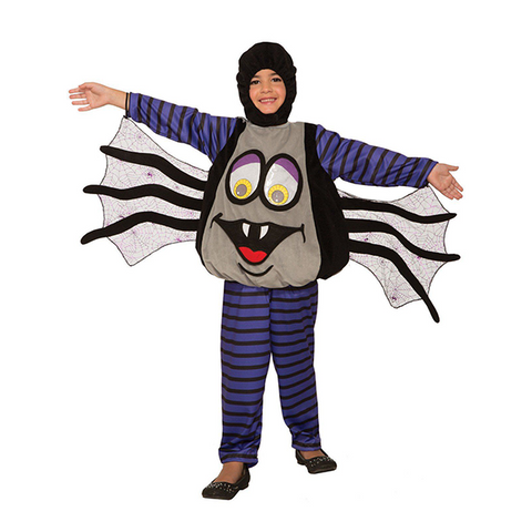 Halloween Kids Wiggle Eyes Spider Costume
