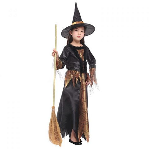 Image of Halloween Luxury Gothic Witch Costume
