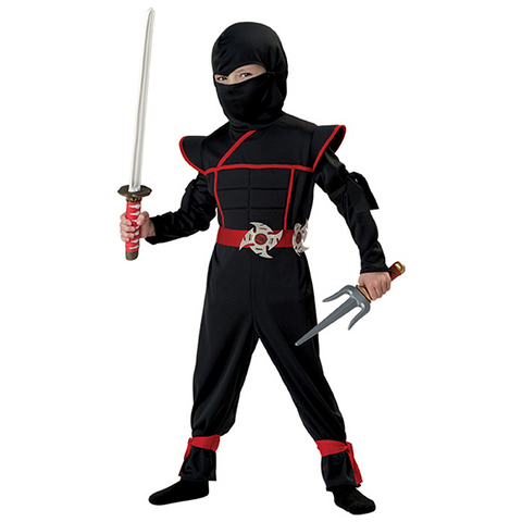 Image of Halloween Stealth Ninja Costume