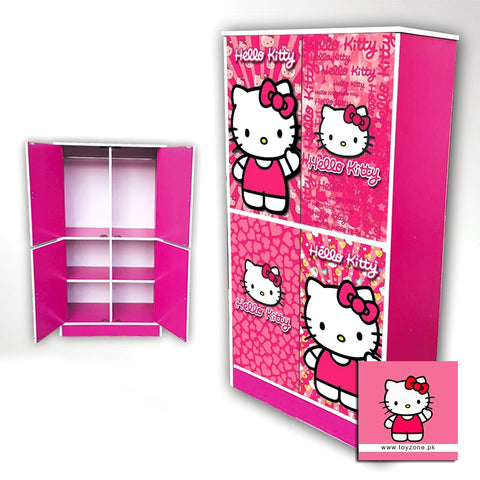 Image of Hello Kitty | 4 Door Wardrobe Toyzone