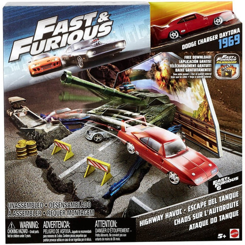 Mattel Hot Wheels Fast & Furious Quarter Highway
