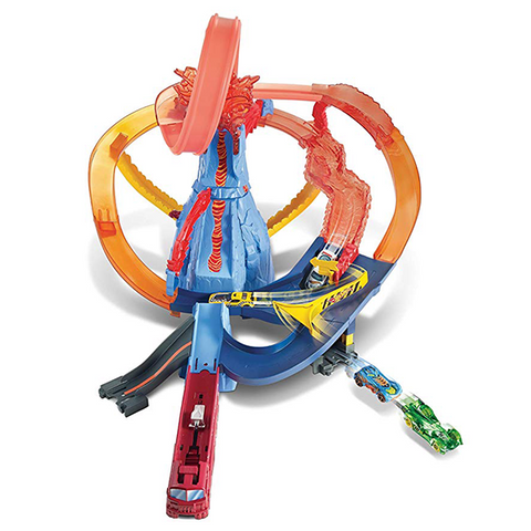Image of Hot Wheels Volcano Escape Playset
