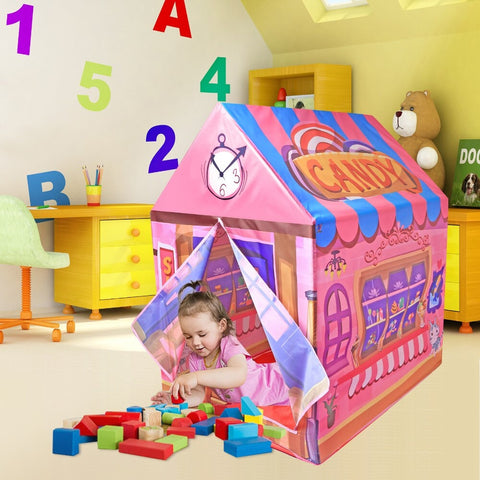 Image of Kids Play Tent House - Candy Shop