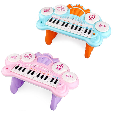 Funny Musical Piano With Microphone