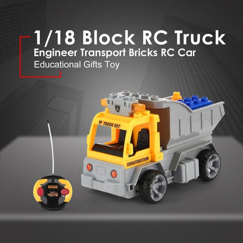 Image of RC Truck Building Blocks-1802