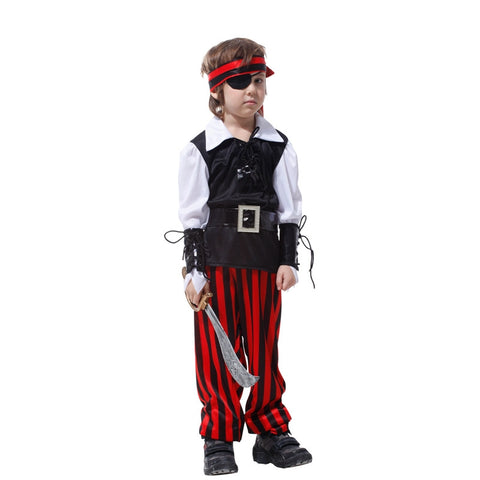 Image of Kids Boys Cutthroat Pirate Costume