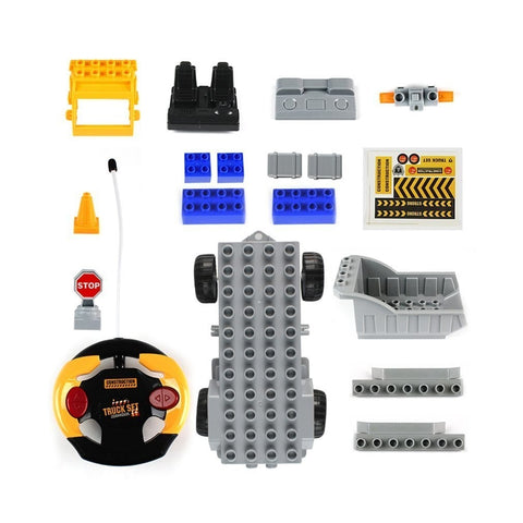 Image of Building Blocks RC Truck