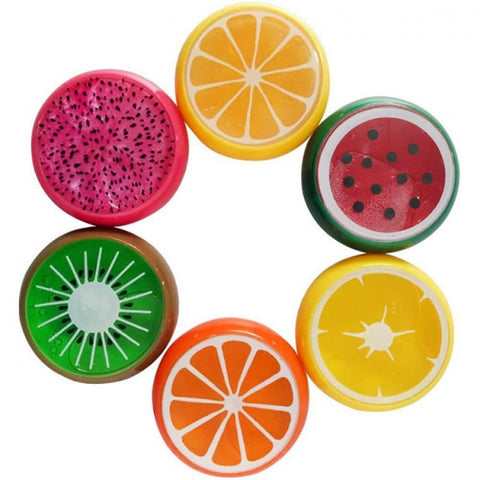 Image of Set of 6 Fruits Filled With Slime