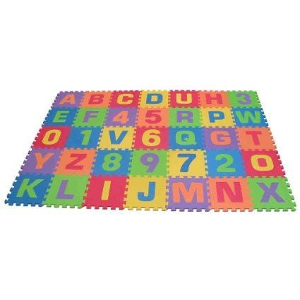 Image of Kids Floor Play Mat With Numbers & Letters
