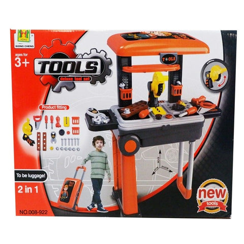 2in1 Toy Builder Deluxe Tools Set-008-922