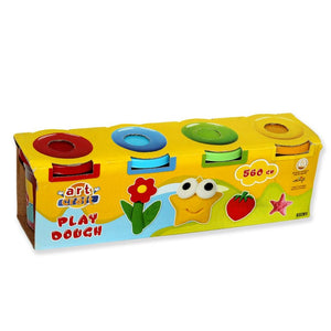 Dede Art Craft Play Dough 4 Tub Pack-YT-3281