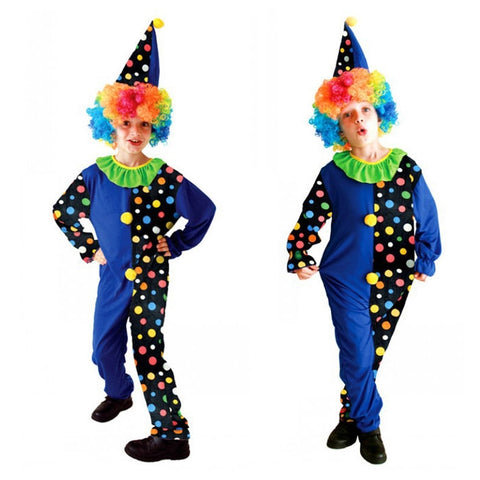 Halloween Kids Amusing Clown Costume