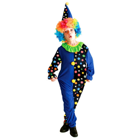 Image of Halloween Kids Amusing Clown Costume