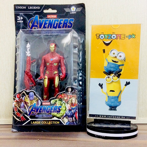 venger hero is having led light in chest,action and movable