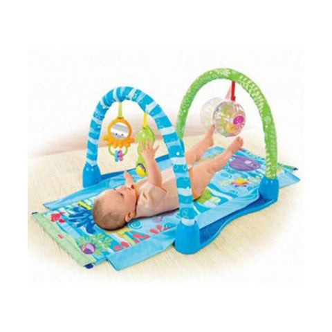 Image of Fisher Price Ocean Wonders Kick and Crawl Gym--P5331