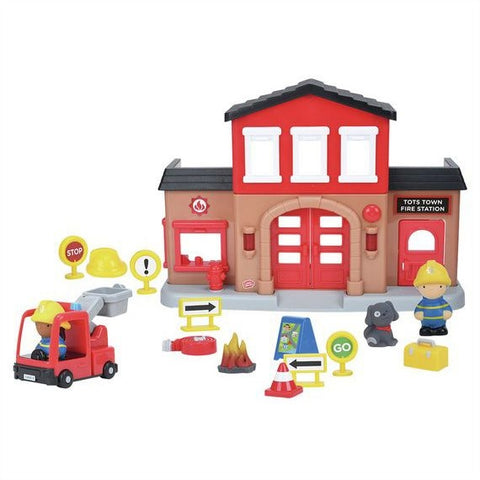 PlayGo Fire Station Playset