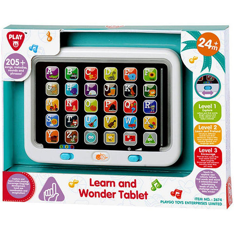 Image of Playgo Learn Abc Wonder Tablet