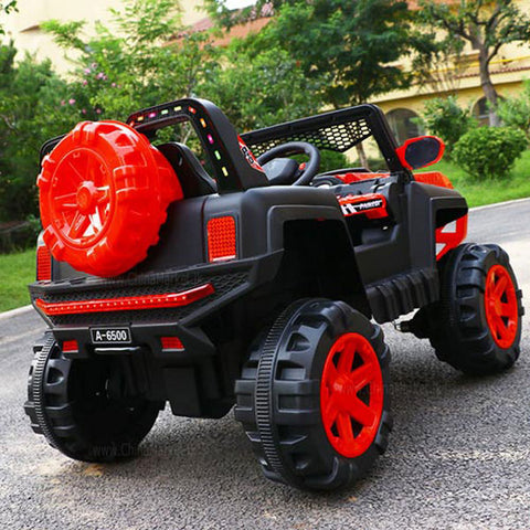Monster Off Road Ride On Truck For Kids