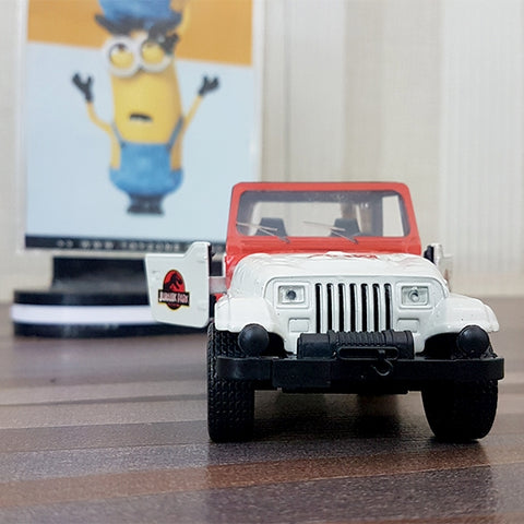 Jurassic World Park | Metal Die-Cast 1992 Classic Jeep Wrangler