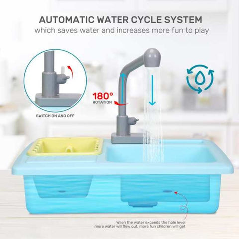 Playgo - Colour Change Kitchen Sink Battery Operated