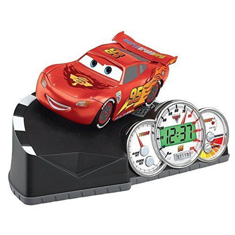Image of Disney Pixar Cars Animated Alarm Clock-cr311