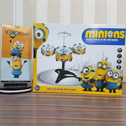 Kids Minions Jazz Drum