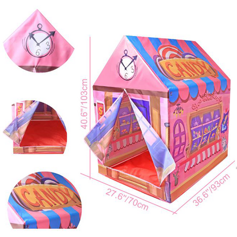 Kids Play Tent House - Candy Shop