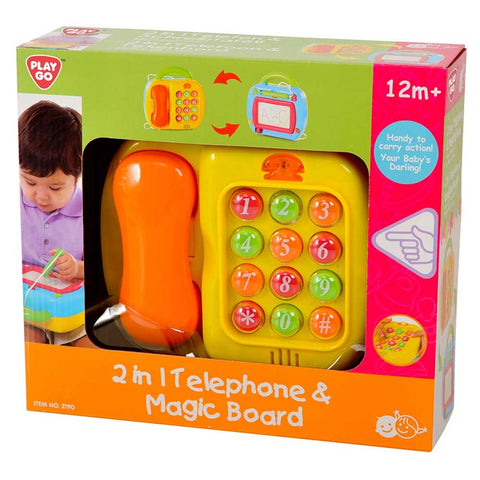 Image of PlayGo - 2in1 Telephone And Magic Board