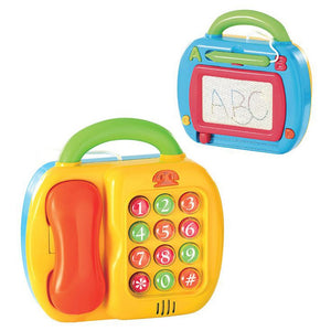 PlayGo - 2in1 Telephone And Magic Board-2190