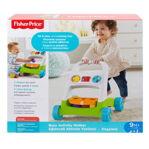 Image of Fisher Price Busy Activity Walker