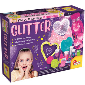 Lisciani I'm A Genius Laboratory Of Glitter Science
