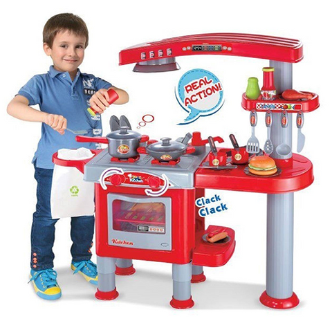 Image of Little Chef Kitchen Set-008-83