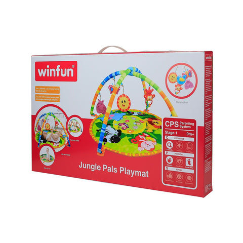 Image of Winfun Jungle Pals Playmat