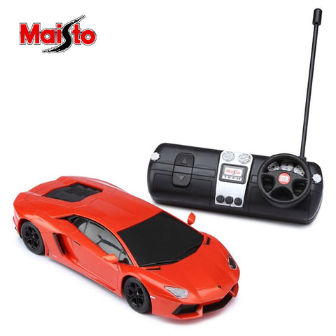 Image of Maisto Lamborghini Aventador Rc Car 1:24 Scale