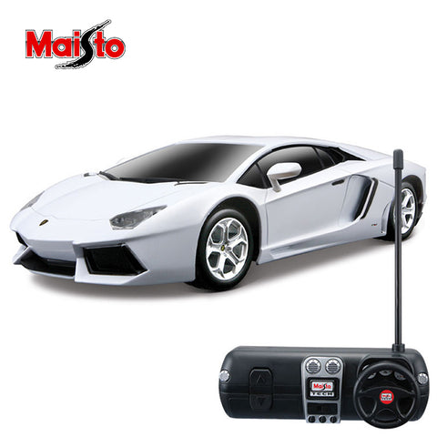 Image of Maisto Lamborghini Aventador Rc Car 1:24 Scale-YT-81057