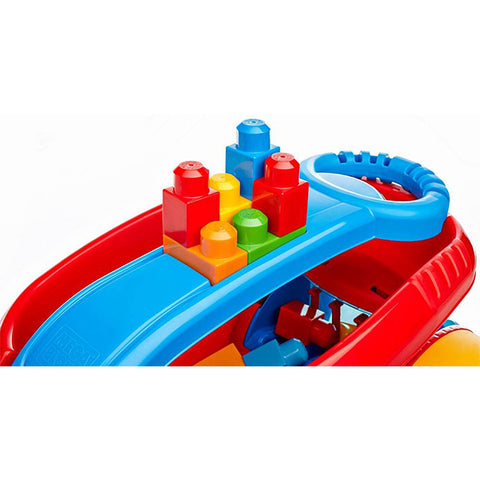 Image of Mega Bloks Block Scooping Wagon Building Set