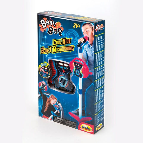 Image of WINFUN Microphone 2v1 BEAT BOP COOL KIDZ