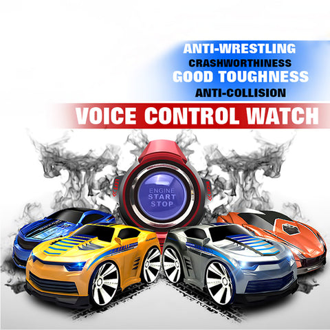 Electronic Voice Control Car With Smart Watch