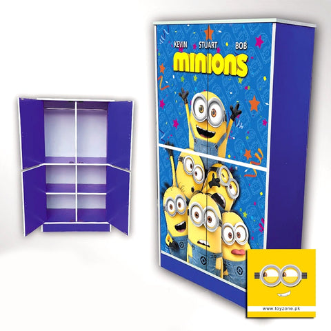 Image of Minions | 4 Door Wardrobe