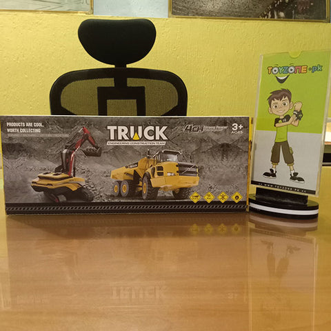 Image of Remote Control Construction Mixer Truck 1:48