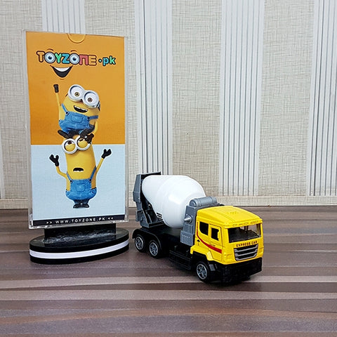 Image of Diecast Alloy Model Of Mixer Truck 1:32