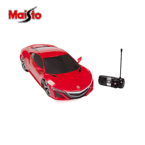Image of Maisto Acura NSX Concept Rc Car 1:24 Scale