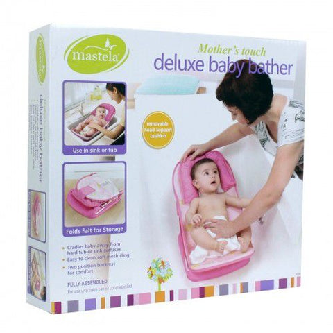 Mastela Deluxe Baby Bather Pink