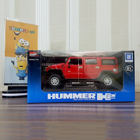 Image of MZ 124 Diecast Hummer H2 - 26020A