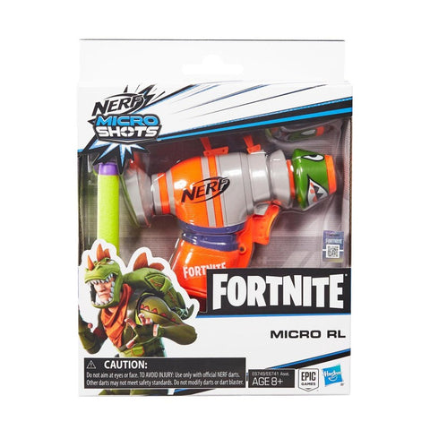 Image of Nerf Fortnite Microshots Dart-Firing