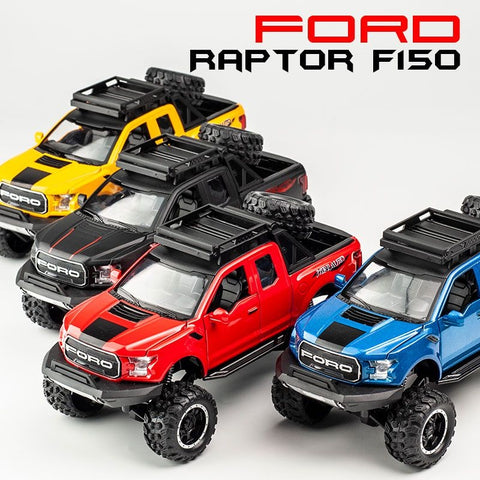 Image of Alloy Ford Raptor Emulated Big Wheels (Light And Sound) - STO