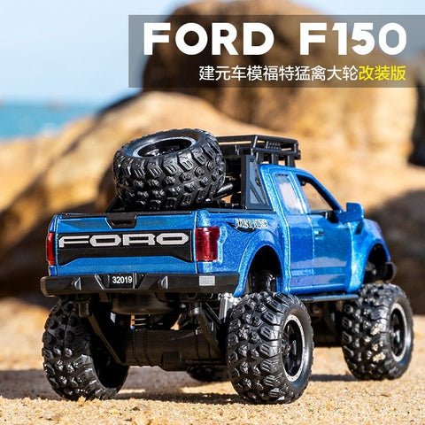 Alloy Ford Raptor Emulated Big Wheels (Light And Sound)