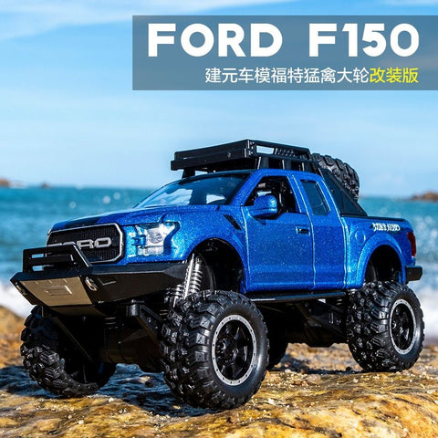 Alloy Ford Raptor Emulated Big Wheels (Light And Sound) - STO