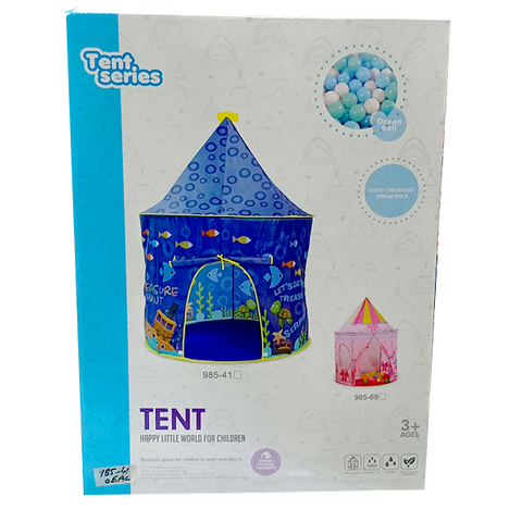 Ocean World Pattern Castle Tent