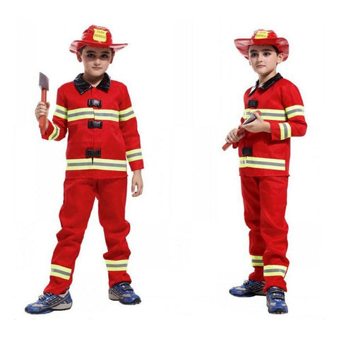 Image of Halloween Firefighter Costume Kids